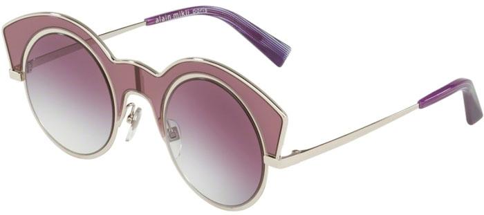 incomparable precio de calle precio moderado Gafas de Sol - Alain Mikli - A04009 LA NUIT - 006/8H SILVER // CLEAR  GRADIENT DARK VIOLET