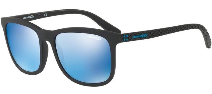 Gafas de Sol Arnette AN4240 CHENGA 01 55 MATTE BLACK    BLUE MIRROR BLUE ff9ffe7c1c8f