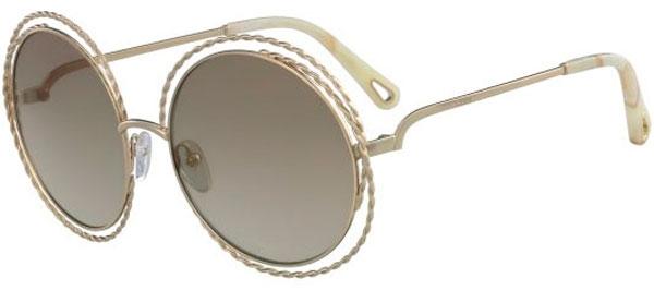 716fb09f25 Gafas de Sol - Chloé - CE114ST CARLINA - 810 GOLD // BROWN GRADIENT FLASH