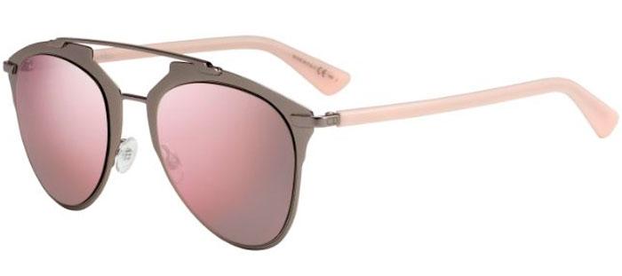 f5a1d7dc7d Gafas de Sol Dior DIORREFLECTED XY2 (0J) DARK RUTHENIUM PINK // GREY ...