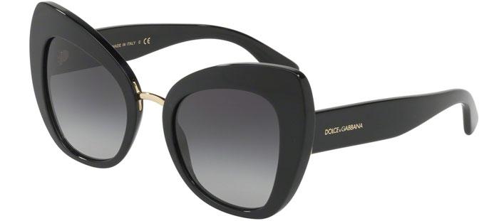 b402dad36b50b Gafas de Sol Dolce   Gabbana DG4319 501 8G BLACK    GREY GRADIENT