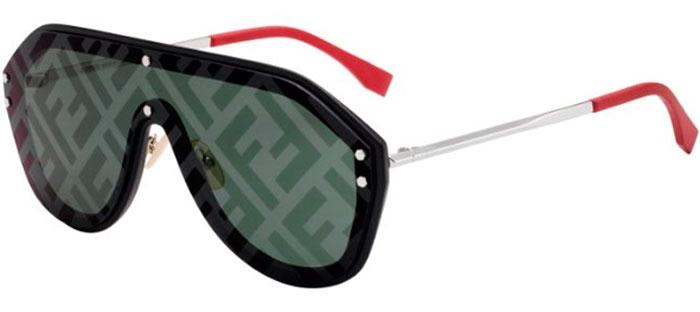 807xrBlack De Ff M0039gs Gafas Green Fendi Decored Sol tCQdxhrs