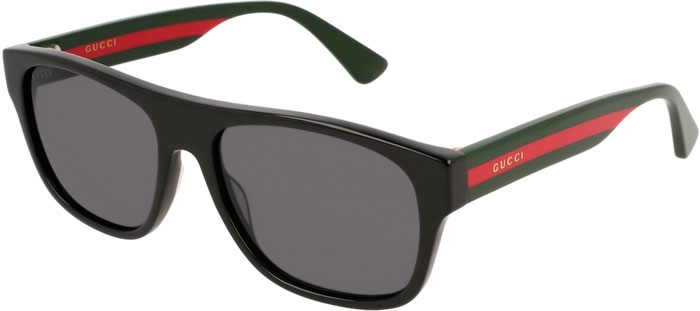 0d6787d5b6 GG0341S - 001. BLACK MULTICOLOR // GREY. Sunglasses - Gucci ...