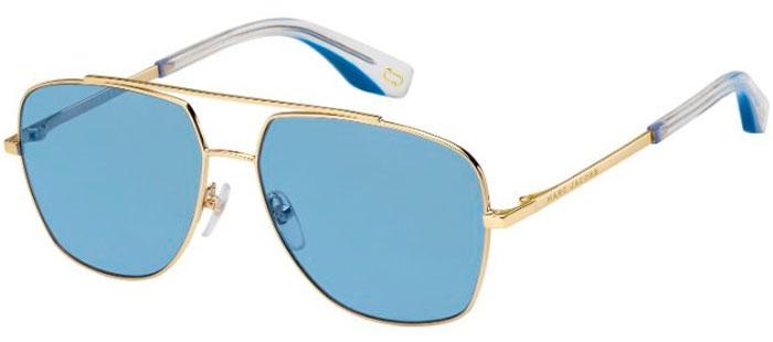151c6b91fa51c Lunettes de soleil - Marc Jacobs - MARC 271 S - LKS (KU) GOLD BLUE    BLUE  GREY