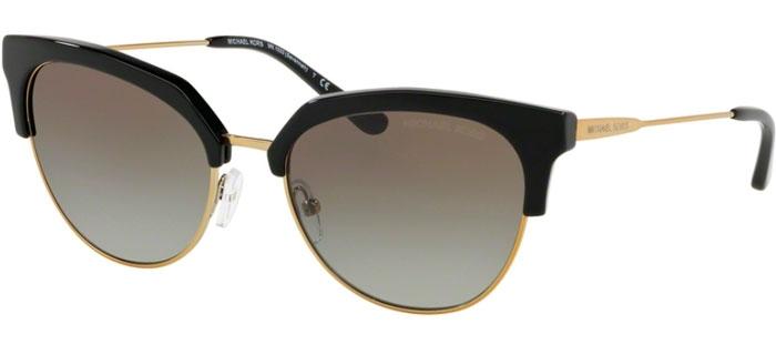 cc4a856fdb50 MK1033 SAVANNAH - 32698E BLACK SHINY PALE GOLD TONE // GREY GRADIENT.  Sunglasses - Michael Kors ...