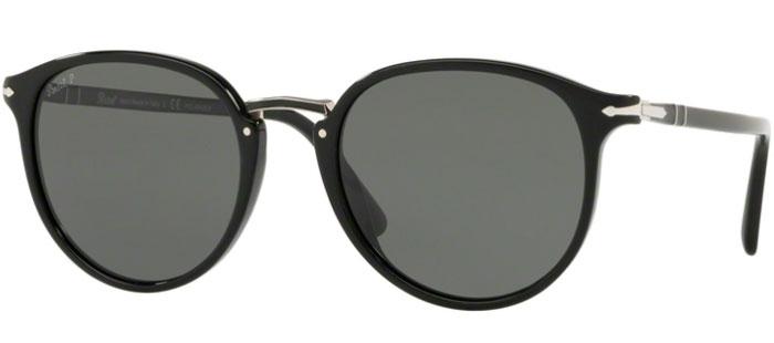 5c809ed950 Gafas de Sol - Persol - PO3210S - 95/58 BLACK // GREEN POLARIZED