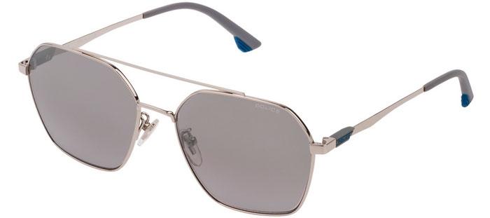 e862c79095 Gafas de Sol - Police - SPL771 VIBE 2 - 579X SHINY PALLADIUM // GREY