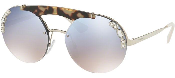 608a65a307 Gafas de Sol - Prada - SPR 52US - 23C5R0 SILVER MEDIUM HAVANA // LIGHT