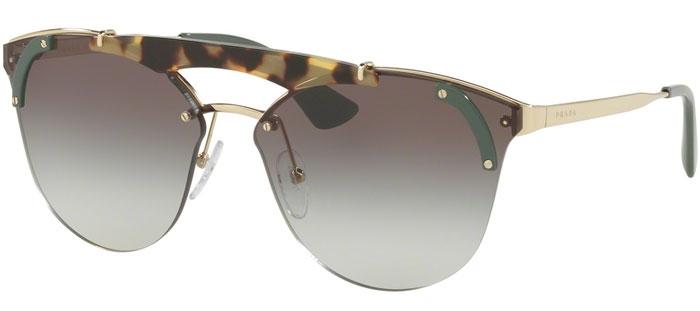 bf61d0c21d Sunglasses Prada SPR 53US SZ60A7 PALE GOLD MEDIUM HAVANA GREEN ...