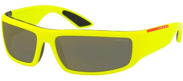 75dc3fc6df Gafas de Sol Prada Linea Rossa SPS 02US 3674L0 YELLOW/BLACK // DARK ...