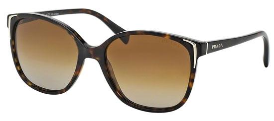 813b282891 Gafas de Sol - Prada - SPR 01OS - 2AU6E1 HAVANA // BROWN GRADIENT POLARIZED.  Polarizada
