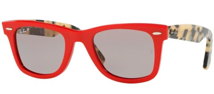 Grey Sol Ray 1243p2 Original Wayfarer Ban® Rb2140 Gafas De Polarized Red QtdCBrhxs
