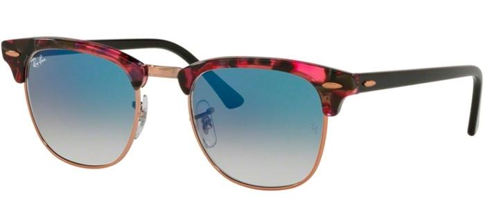 ae4fc2e696 Gafas de Sol RayBan® RayBan® RB3016 CLUBMASTER 12573F SPOTTED GREY ...