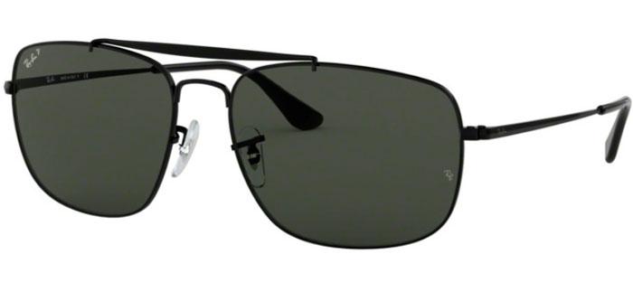 cf650bc0cd Gafas de Sol Ray-Ban RB3560 THE COLONEL - 002/58 BLACK // GREEN ...