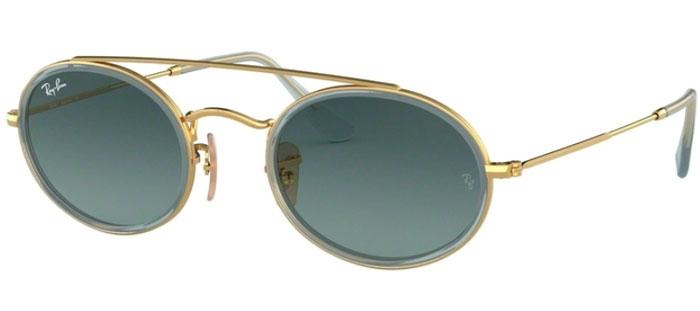 1e25fe7dd5 Gafas de Sol RayBan® RayBan® RB3847N 91233M GOLD // BLUE GREY GRADIENT