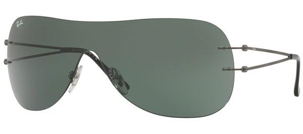 9ed3e317de Sunglasses RayBan RayBan RB8057 154 71 MATTE DARK GUNMETAL    GREEN