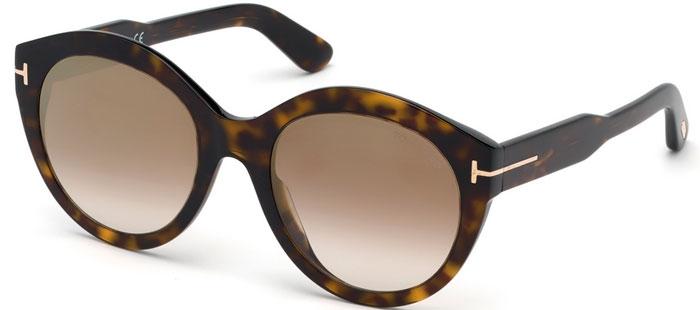 efe0ccbae8 Gafas de Sol Tom Ford ROSANNA FT0661 52G DARK HAVANA // BROWN GRADIENT