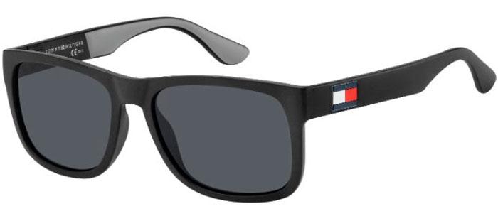 descuento fina artesanía atarse en Gafas de Sol - Tommy Hilfiger - TH 1556/S - 08A (IR) BLACK GREY // GREY
