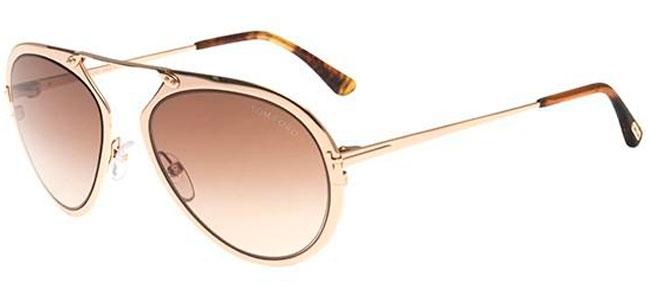 3db06ce15c6fa Gafas de Sol Tom Ford DASHEL FT0508 28F SHINY GOLD    BROWN GRADIENT