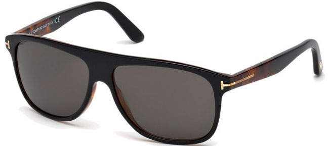 53315233b6 Gafas de Sol - Tom Ford - INIGO FT0501 - 05A BLACK DARK HAVANA //
