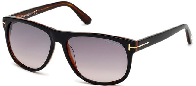 f7319a8375 Gafas de Sol Tom Ford OLIVIER FT0236 05B BLACK HAVANA // GREY GRADIENT