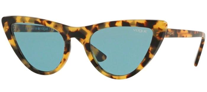 9f014ab552 Sunglasses - Vogue - VO5211S BY GIGI HADID - 260580 HAVANA HONEY // BLUE