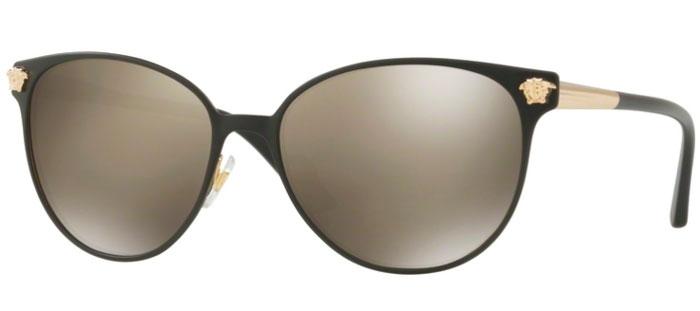 1bd645f7d3 Gafas de Sol - Versace - VE2168 - 13665A BLACK PALE GOLD    LIGHT BROWN