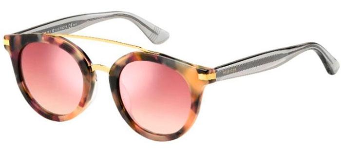 3586103218 Gafas de Sol Tommy Hilfiger TH 1517/S 0T4 (2S) HAVANA PINK // PINK ...