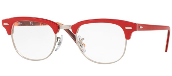 dd8722ec74 Monturas - Ray-Ban® - RX5154 CLUBMASTER - 5651 RED ON TEXTURE CAMUFLAGE