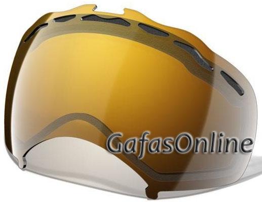 Máscaras 2Recambios 180 Splice Pantallas Ski Iridium 02 Lentes Oakley Gold dxeoCBWr