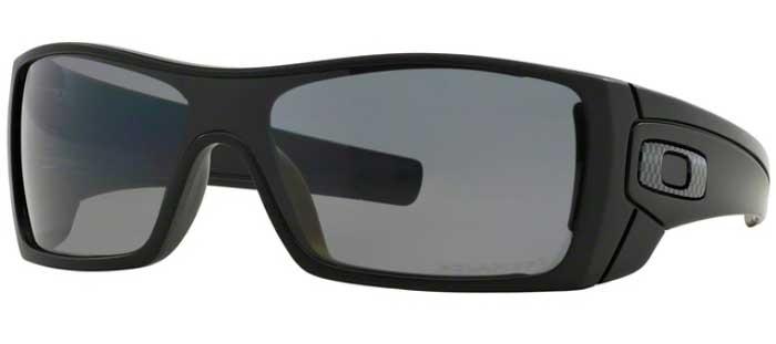 22da130255 Sunglasses - Oakley - BATWOLF OO9101 - 9101-04 MATTE BLACK    GREY POLARIZED