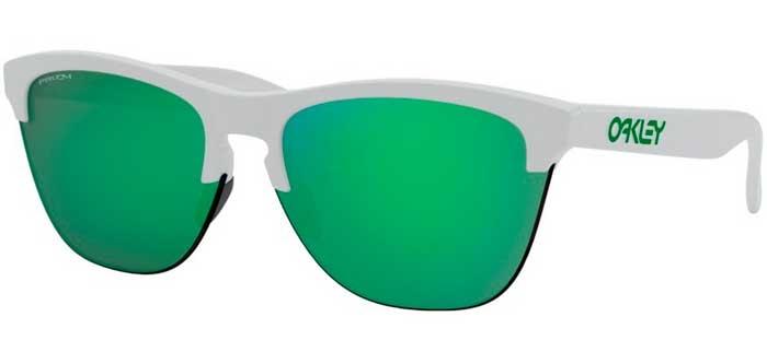 617e84f7e7 MATTE WHITE // PRIZM JADE. Gafas de Sol - Oakley - FROGSKINS LITE OO9374 -  9374-15 MATTE WHITE /