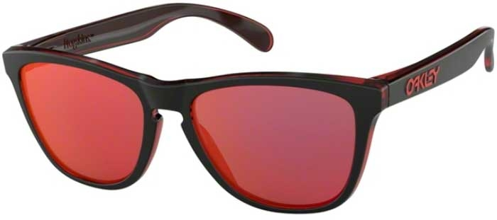 dc33213a16111 Lunettes de soleil - Oakley - FROGSKINS OO9013 - 9013-A7 ECLIPSE RED