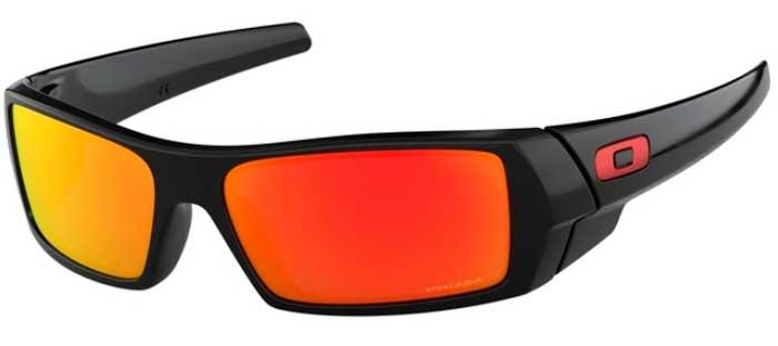d26e45f628f Sunglasses - Oakley - GASCAN OO9014 - 9014-44 POLISHED BLACK    PRIZM RUBY