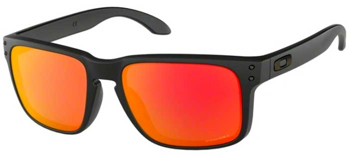 fd9940ec40 Gafas de Sol Oakley HOLBROOK OO9102 9102E2 MATTE BLACK    PRIZM RUBY