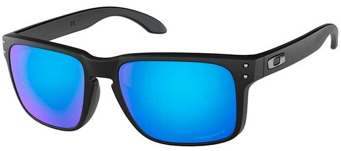 Gafas de Sol Oakley HOLBROOK OO9102 9102F0 MATTE BLACK    PRIZM ... 8b9f261947