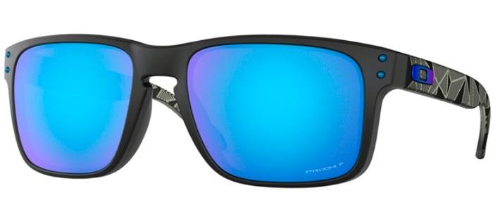 H0 Holbrook Prizmatic Sapphire De Oakley Oo9102 Sol 9102 Prizm Matte Gafas Black Polarized l1KJFc