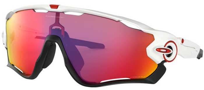 724d02f8fc Sunglasses - Oakley - JAWBREAKER OO9290 - 9290-05 POLISHED WHITE // PRIZM  ROAD