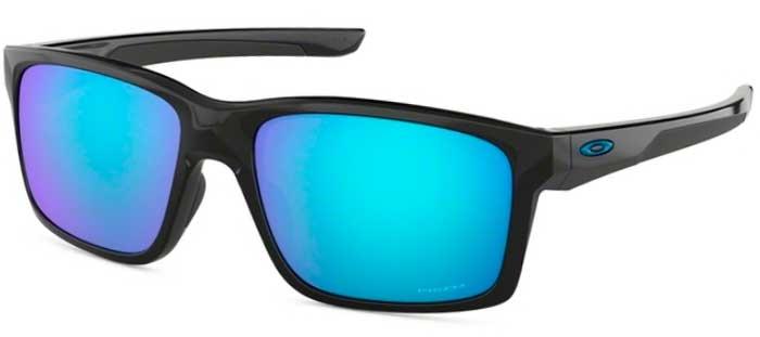 240ef088b405b Sunglasses - Oakley - MAINLINK OO9264 - 9264-30 POLISHED BLACK    PRIZM  SAPPHIRE
