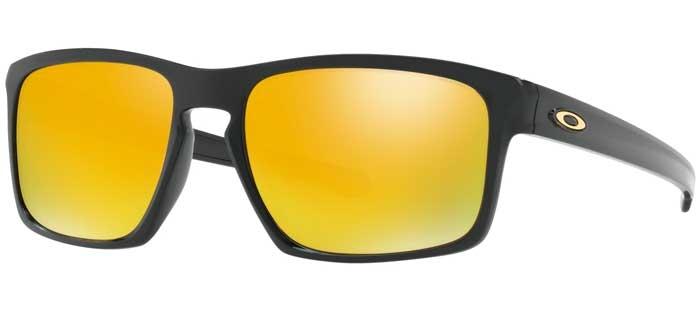 ab8474773387d Sunglasses - Oakley - SLIVER OO9262 - 9262-05 POLISHED BLACK    24K IRIDIUM