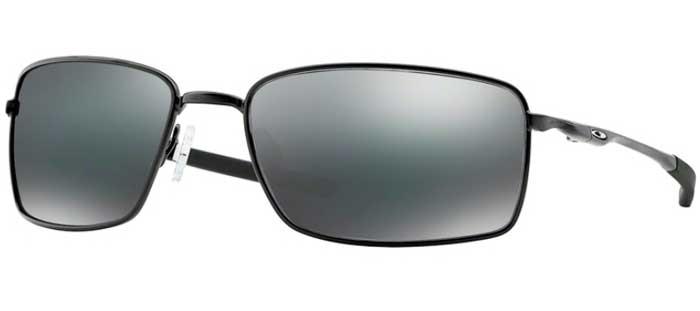 5ff3af3495 Sunglasses Oakley SQUARE WIRE OO4075 407501 POLISHED BLACK // BLACK ...