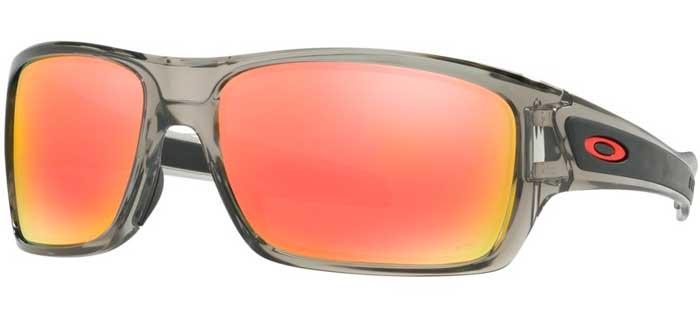754a9feeb4 Sunglasses - Oakley - TURBINE OO9263 - 9263-10 GREY INK    RUBY IRIDIUM.  Polarized