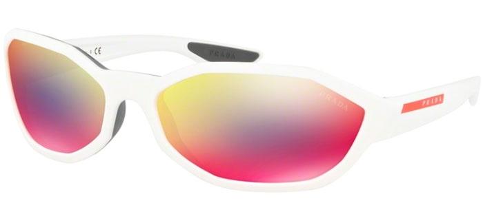 De Gafas Sps Sol Rossa White 04us Blue Prada Aai9q1 Matte Active Mirror Linea OP8nwk0