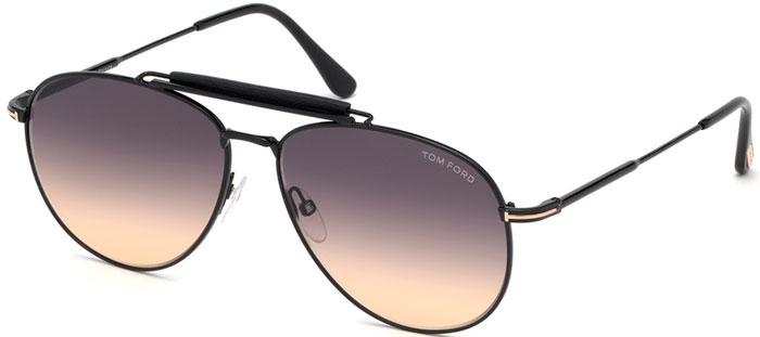 cef37be51b Gafas de Sol Tom Ford SEAN FT0536 01B POLISHED BLACK // GREY GRADIENT
