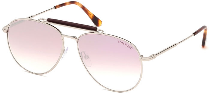 aeb596db3d Gafas de Sol - Tom Ford - SEAN FT0536 - 16Z POLISHED SILVER // PINK