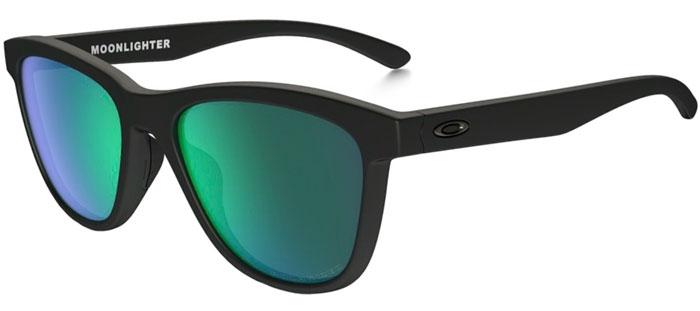 b82ea8472c5 Sunglasses - Oakley - MOONLIGHTER OO9320 - 9320-12 MATTE BLACK    JADE  IRIDIUM. Polarized