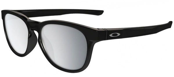 544bc4d6e5 STRINGER OO9315 - 9315-08. POLISHED BLACK    CHROME IRIDIUM. Sunglasses -  Oakley ...
