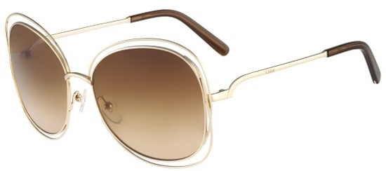 Rose Gradient Gold Gafas De Brown Sol Carlina Ce119s 786 Chloé Jl1cTFK