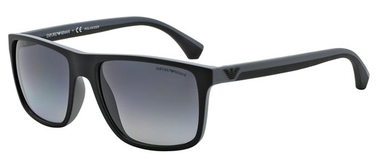 c912702eec Gafas de Sol - Emporio Armani - EA4033 - 5229T3 BLACK GREY RUBBER // GREY
