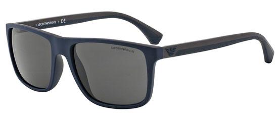 calidad y cantidad asegurada precio de calle estilo clásico de 2019 Gafas de Sol - Emporio Armani - EA4033 - 523087 TOP BLUE BROWN RUBBER //  GREY